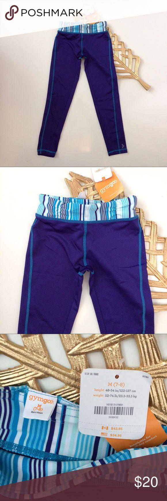Girl's Workout Pants Gymgo Gymboree Medium 7/8 Girl's Workout Pants.  Gymgo by Gymboree.  Stretch Athletic NWT Size Medium 7/8 Gymboree Bottoms Sweatpants & Joggers