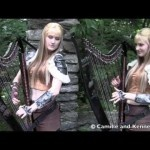 The Harp Twins Perform a Beautiful Skyrim / Morrowind Theme Medley