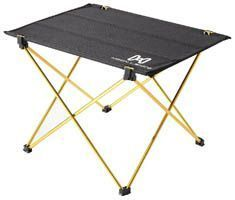 Folding camping table fits in compact carrying bag #CampingTable