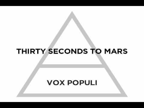 "30 Seconds to Mars - ""Vox Populi"" - I'm dubbing this the Penguins playoff song for this year."