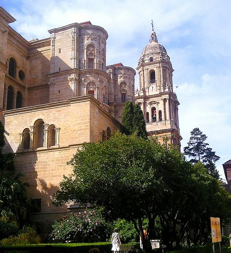 Malaga Cathedral: Our tips for things to do in Malaga: http://www.europealacarte.co.uk/blog/2010/08/22/malaga-travel-tips-best-things-to-do-in-malaga/
