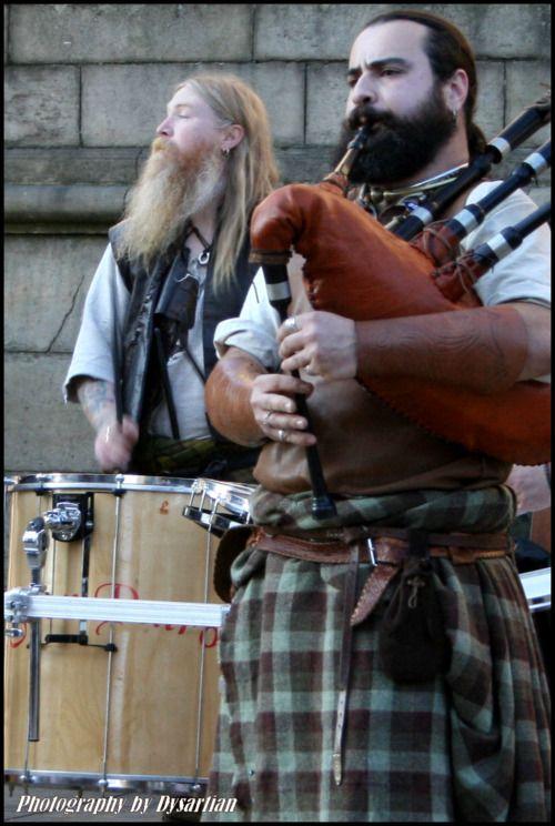 The world needs more bearded men in kilts /sarongs/ pants alternatives.