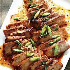 Recette Côtelettes de porc au gingembre et à l'ail - Coup de Pouce#article_comments