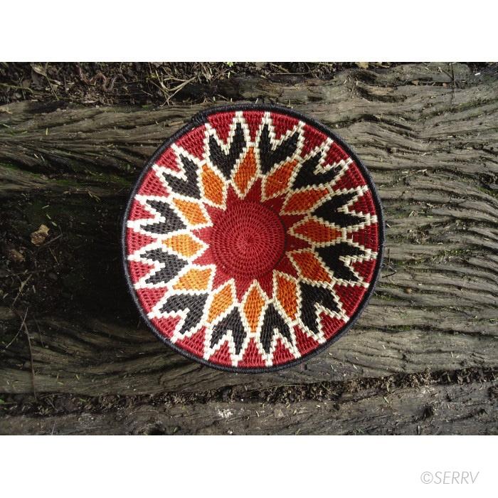 Woven Disc Basket : Best swazi woven baskets images on wicker