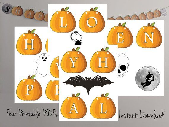 photograph relating to Halloween Decorations Printable identified as Content Halloween Halloween Decorations Printable Garland