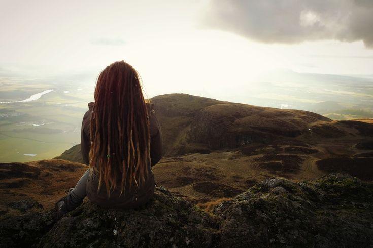 Dumyat evenings #dreadlocks #beautiful #view #nature #mountains #hike #Dumyat #Scotland #Stirling