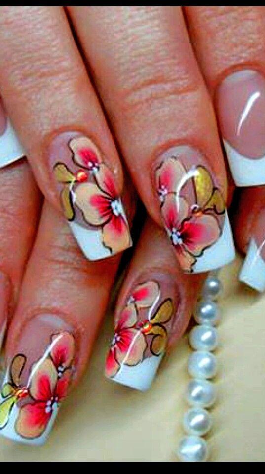 FLORAL Nail Art ❤