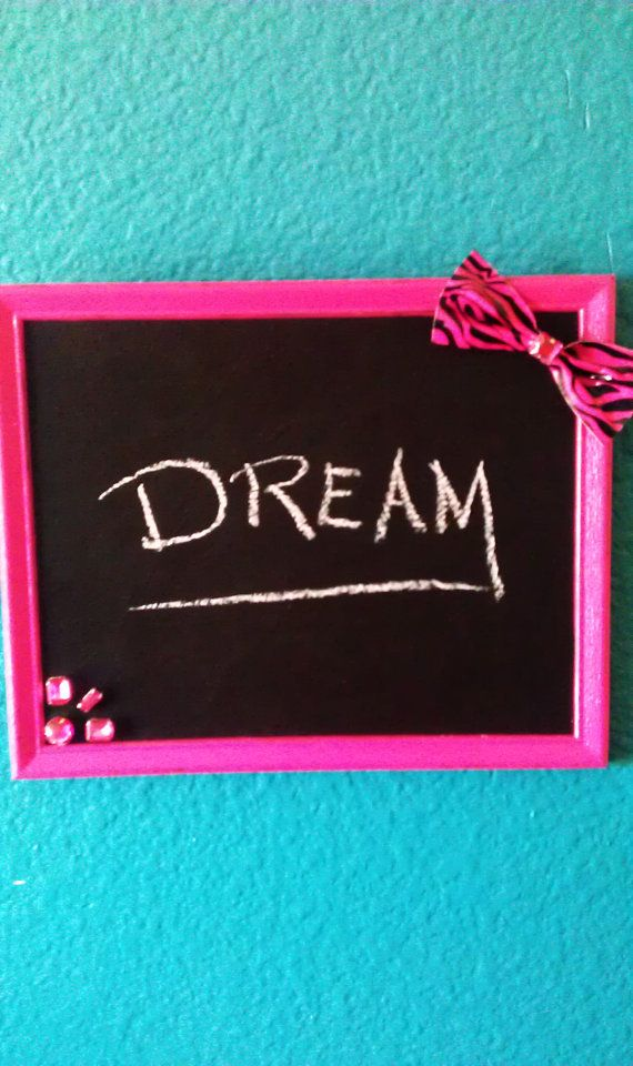 Hey, I found this really awesome Etsy listing at http://www.etsy.com/listing/154751881/fun-chalkboard-teen-girl-bedroom-decor
