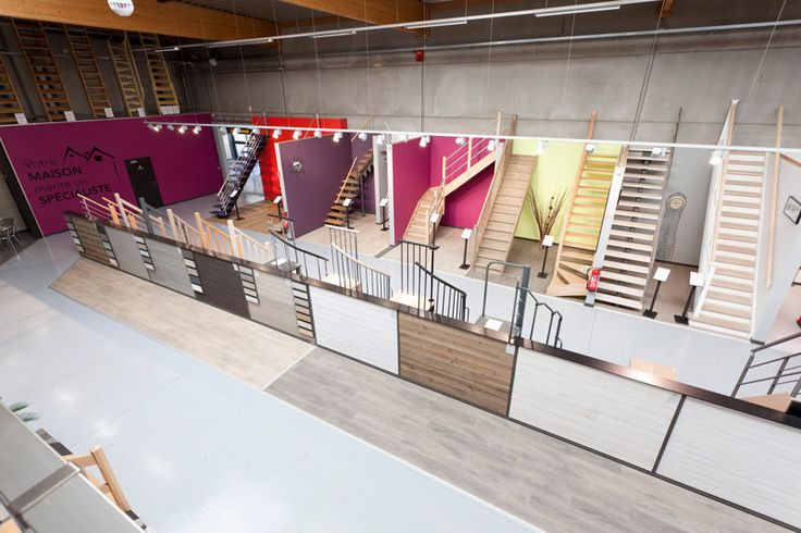 Showroom escaliers, lambris & parquets - Court-Saint-Etienne