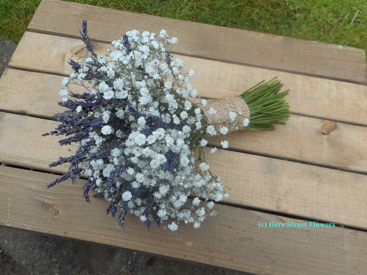 Gypsophila And Grosso Lavender Bouquet Wedding Bouquets