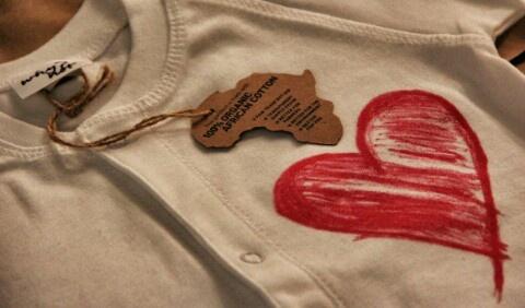 #whynot lives #organic cotton from #tanzania #africa #amore #biologico #abbigliamento #bambini