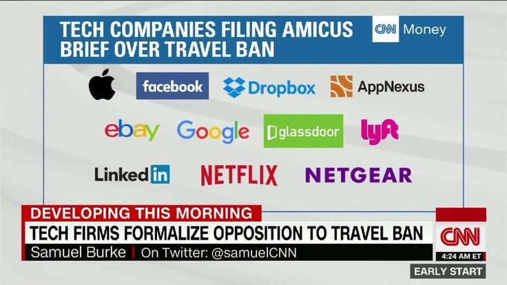 Elon Musk joins court fight against Trump travel ban - Feb. 6, 2017