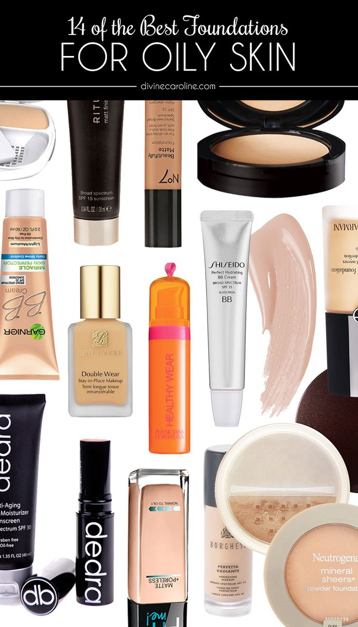 The Best Foundations for Oily Skin Best foundation for