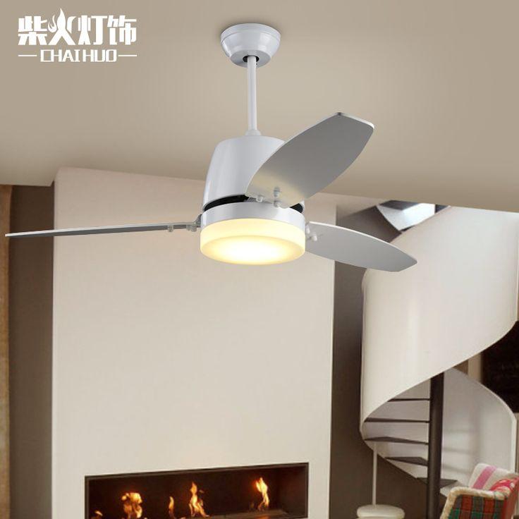 Europeanultra тихий вентилятор 220 В невидимые потолочные вентиляторы вентилятор современных лампы для гостиной, европейский потолочные светильники с огнями