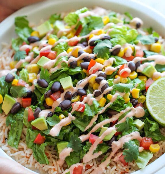 Healthy Burrito Bowls!   Check out this great post-workout recipe.