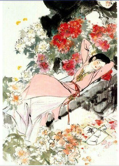 Китайские мудрецы утверждают:  на спине спят - святые, на животе - грешники,  на правом боку - царицы, на левом - мудрые женщины...