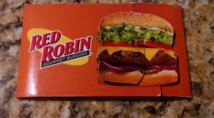$25 RED ROBIN gift card Yum Free Mail Delivery!