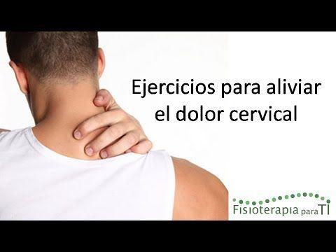 4 ejercicios para aliviar el dolor cervical | Salud