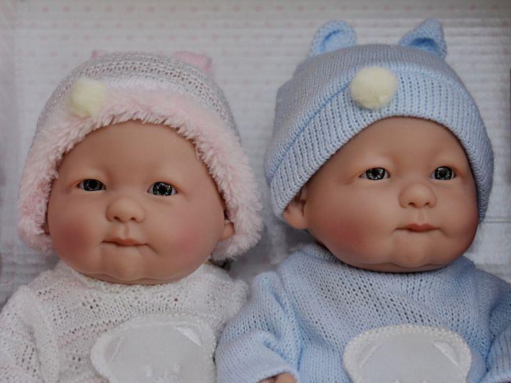 Realistické panenky dvojčátka -Lojzík a Lojzička od firmy Guca ze Španělska