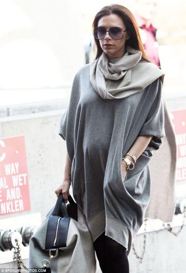 Victoria Beckham pregnancy wardrobe