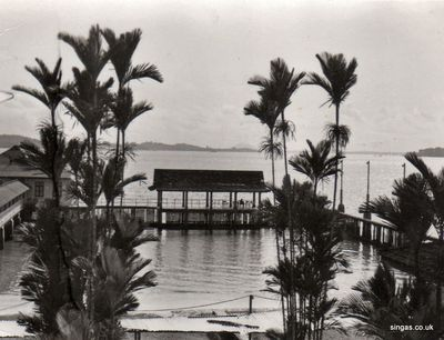 Pasir Ris Hotel - late 1960s. Source: Heather Fisher
