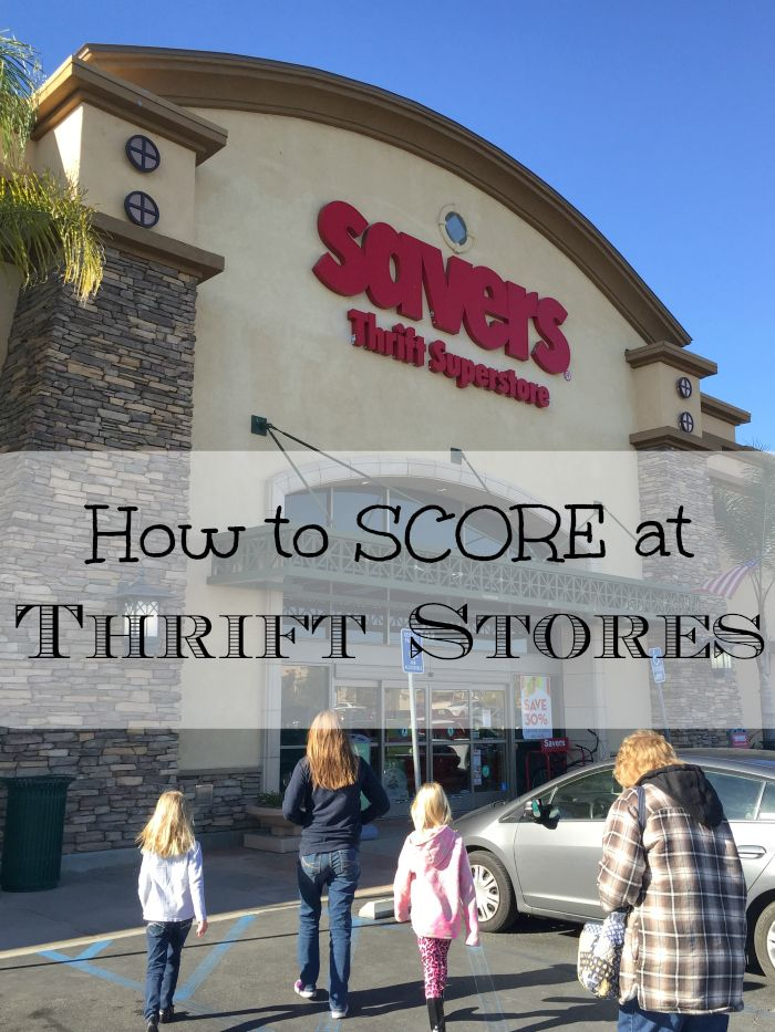 Many thrift store shopping tips from a woman who shops there often and finds name brand clothing for her kids.