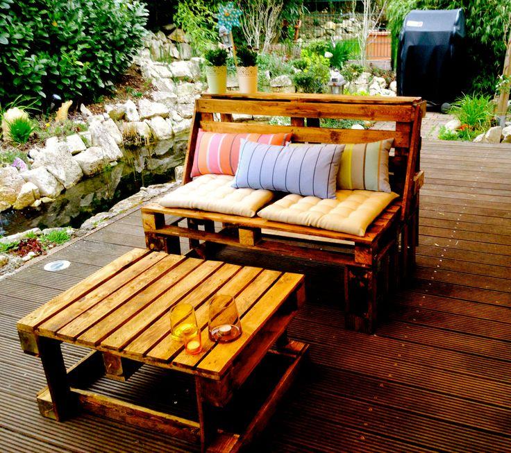 oltre 1000 idee su tisch aus europaletten su pinterest. Black Bedroom Furniture Sets. Home Design Ideas