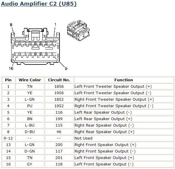Car Amplifier Wiring Diagram Installation: Monsoon Amp Wiring Diagram
