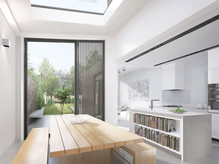 Upper Brockley dining area interior design