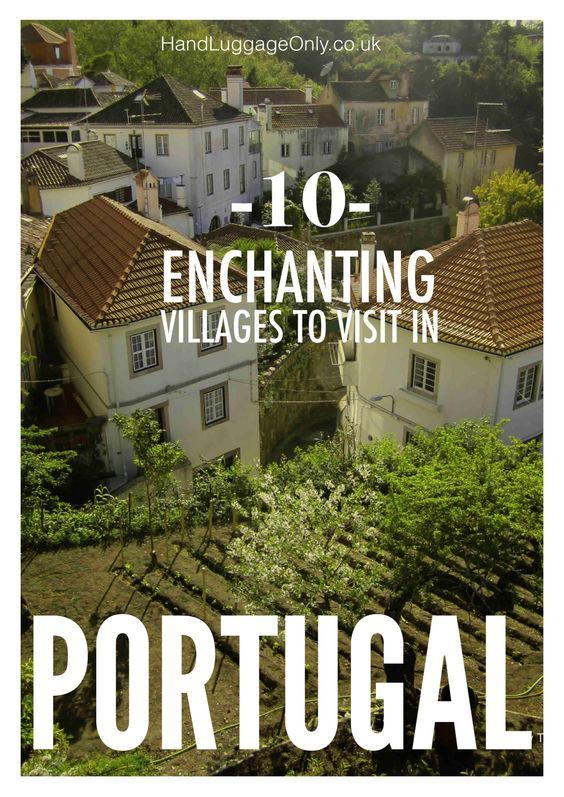 Portugal has some the most beautiful villages in all of Europe, some well known, others - less so. The mixture of heritage, culture and charm attract visit - 10 Enchanting Villages To Visit In Portugal - Travel, Travel Inspiration - Almeida, Castelo Rodrigo, Ericeira, Europe, Marvao, Monsaraz, Mosan...