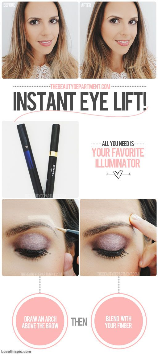 DIY eyelift girly girl makeup diy easy crafts diy ideas diy crafts do it yourself easy diy tutorial diy tips diy images do it yourself images diy photos diy pics easy diy craft ideas diy tutorial diy tutorials diy tutorial idea diy tutorial ideas eye lift: Diy Ideas, Eye Makeup, Diy Fashion, Eye Lifting, Makeup Tips, Diy Tutorials, Instant Eye, Eyebrows Lifting, Diy Makeup