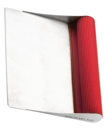 Rachael Ray Bench Scraper Red Dishwasher cover