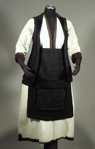 Folk Costume from Bitola region of Macedonia; early 1900's   on eBay