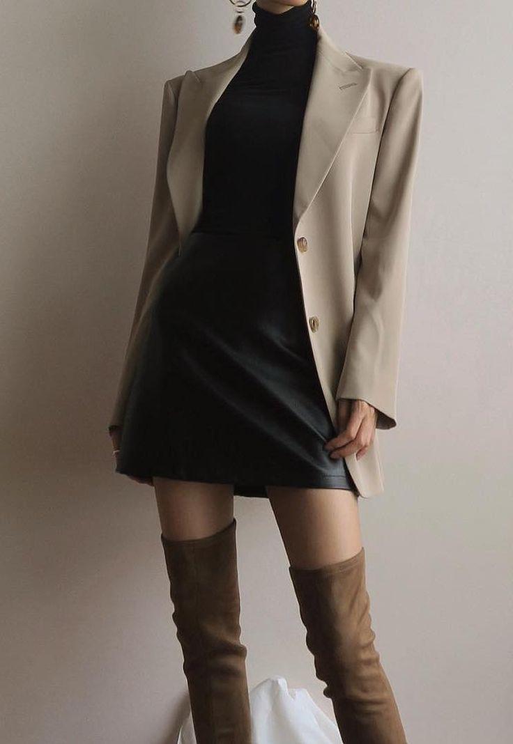 Minimalistische und schicke Outfits-Ideen – #beauty #minimalistische #OutfitsIdeen #schicke #und