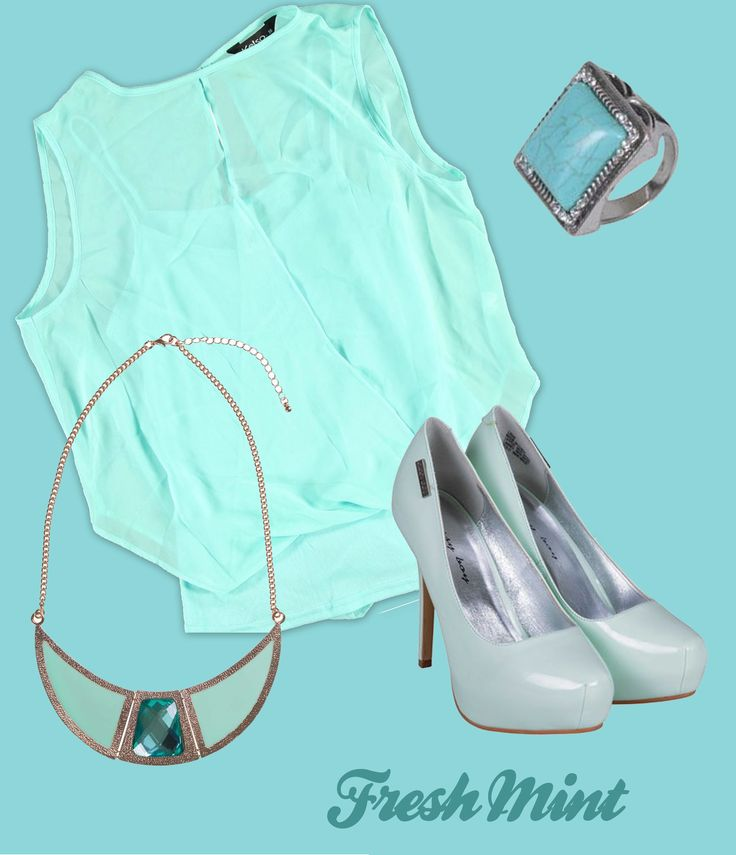 Kelso Soft Shirt, Edgars Collar Necklace, Studio Q Blue Stone Ring, Sissy Boy Heels (All available @ Edgars)