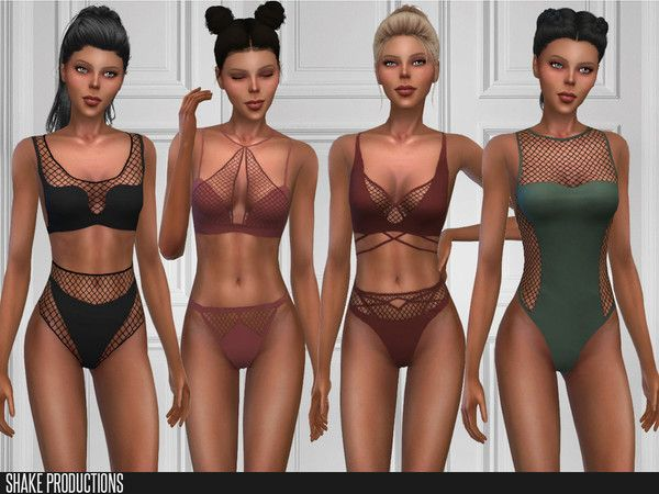 The Sims 4 mody do gry: ShakeProductions 386 ZESTAW in 2020