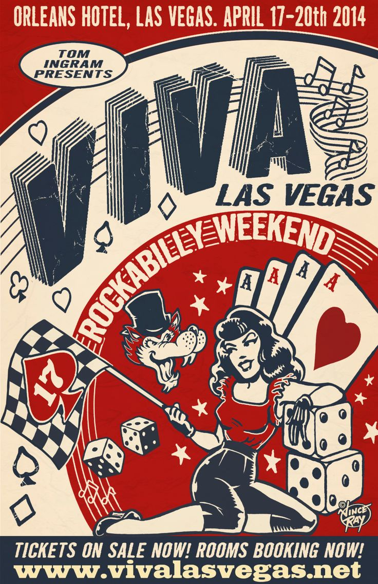 VIVA LAS VEGAS ROCKABILLY WEEKEND April 17-20 2014