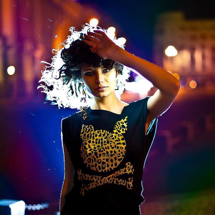 """W' """"Leopard"""" T-Shirt"""