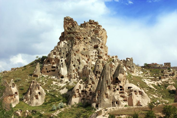 Cappadocia, Turkey:  Vast networks of underground chambers and tunnels, some of which bear Byzantine frescoes. Incredible.