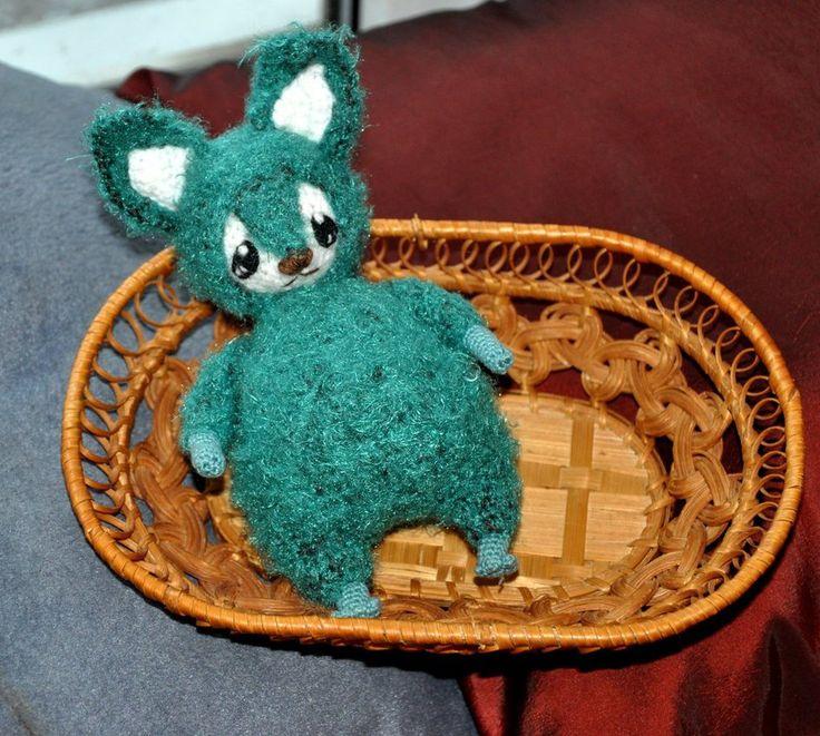 Green Fox Amigurumi (28) by Faurik.deviantart.com on @DeviantArt