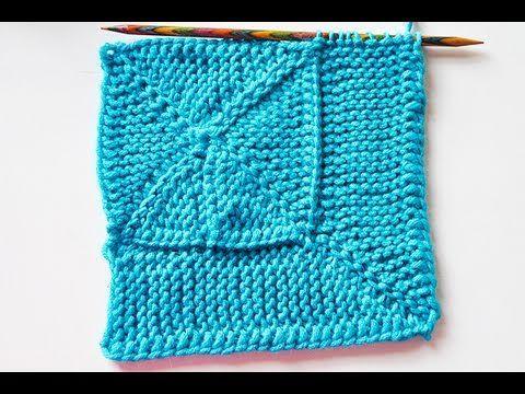 """Stricken * 10 Stitch Blanket """"eliZZZa"""" * Teil 1 * 10-Maschen-Decke * Wickelmaschen - YouTube"""