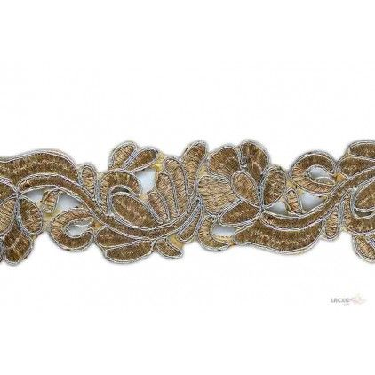 Embroidery Cutwork Lace - 012226 Rs1,012.50 / 9 Meter Roll