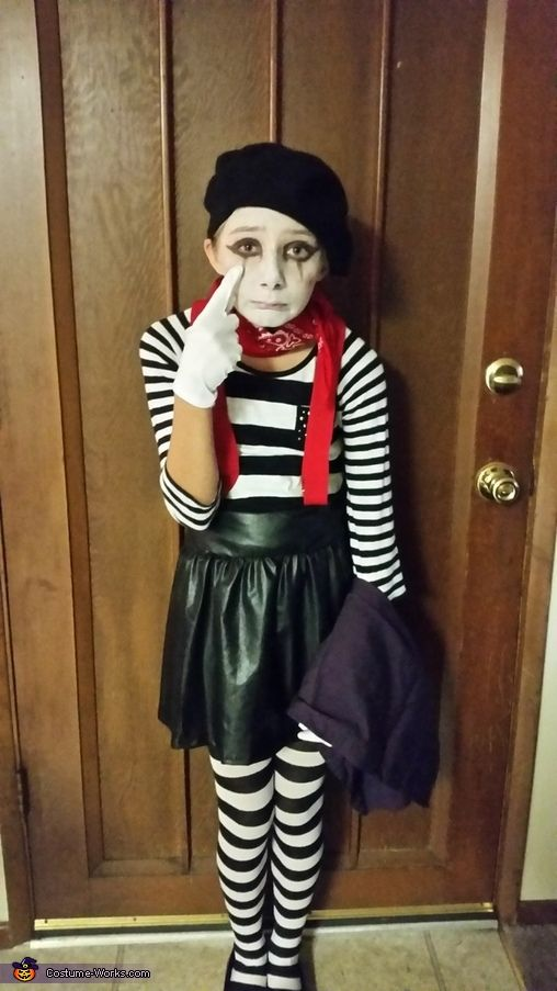 mime costume - Mime For Halloween