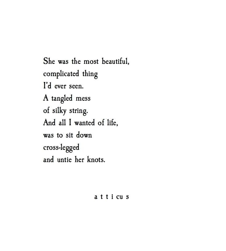 'Knots & Strings' @atticuspoetry #atticuspoetry Absolutely love this ♡♡♡