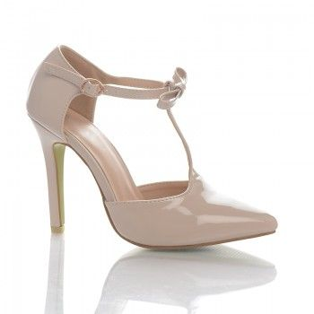 Pantofi Rosabela - Bej Pantofii Rosabela sunt discreti si comozi, datorita unui toc stabil de numai 10 cm. Acesti pantofi au o nuanta foarte populara in acest sezon: bej-caramel. Puteti asorta acesti pantofi la diverse stiluri vestimentare, cum ar fi casual, office sau elegant.