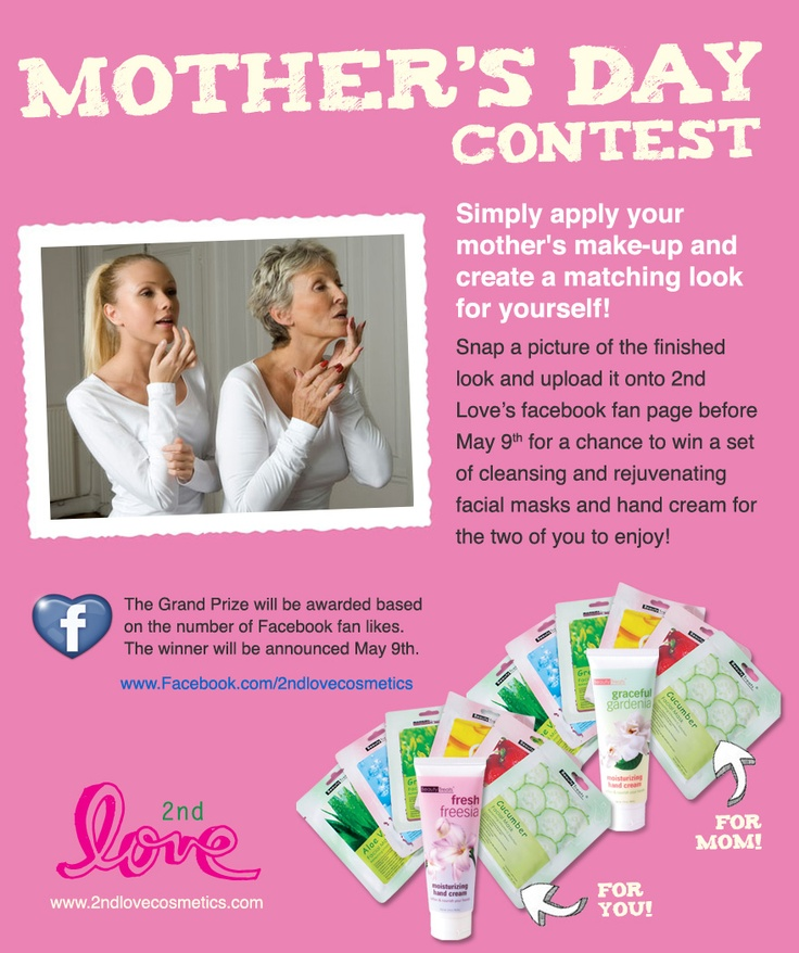 10 best images about Mothers Day Contest on Pinterest ...