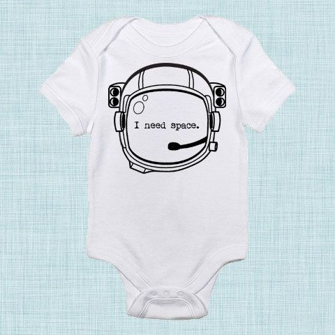 I Need Space Funny Baby Clothes Toddler Boy Clothes