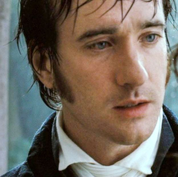 Matthew MacFadyen. Mr. Darcy. I fell in love with him at this moment:)