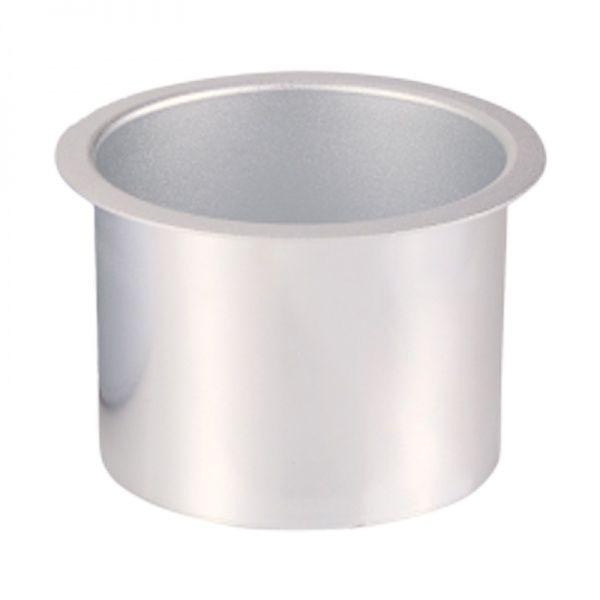 ミニワックスヒーター用 アルミカップ ミニワックスヒーター用のアルミカップです。  直径 : 約 10 cm 高さ : 約 8 cm 容量 : 450g