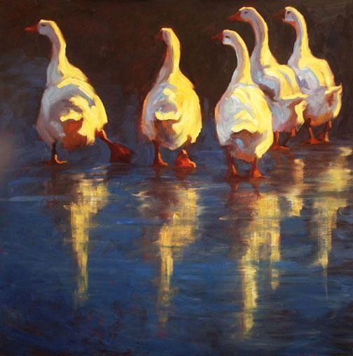 Easy Does It by Cheri Christensen Oil ~ 44 x 44